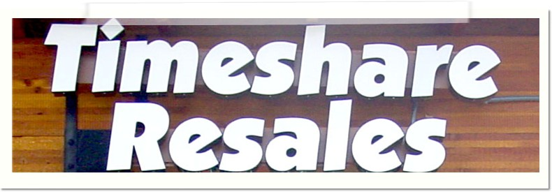 Timeshare Resales Channel Letters