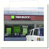 H&R Block Channel Letters